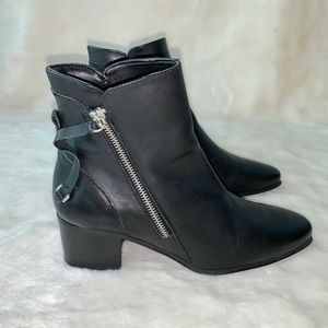 Zara Zipper Ankle Boot
